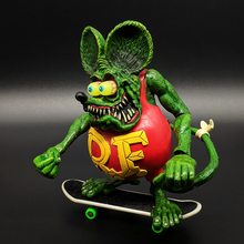New Arrvial Tales of the Rat Fink Mouse PVC Action Figure Collectible Model Toy 10cm