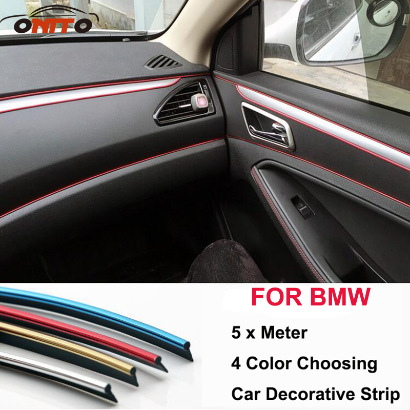 5 meter decoration strip pvc decorative tape dash panel trim strip automotive for auto. Black Bedroom Furniture Sets. Home Design Ideas