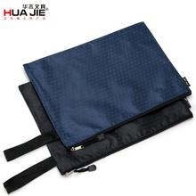 A4 File Holder Oxford Cloth Thicken Zipper Storage Bag Information Multifunction Commerce Office Stationery Wholesale