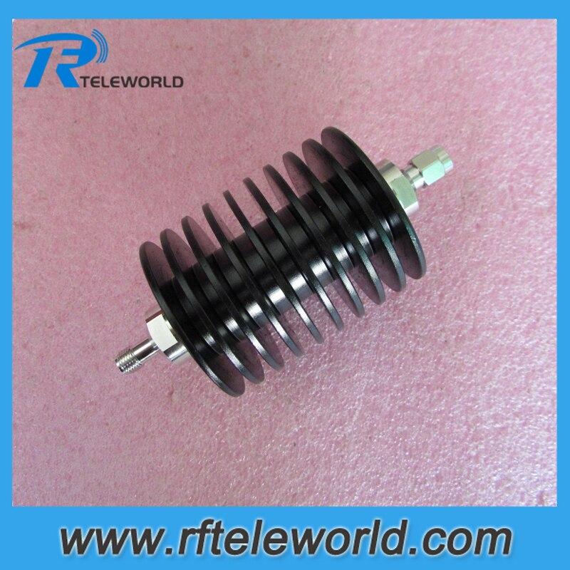 25W SMA attenuator 6GHz coaxial attenuators 3db 5db 6db 10dB 15db 20dB 30dB 40dB 50ohm male