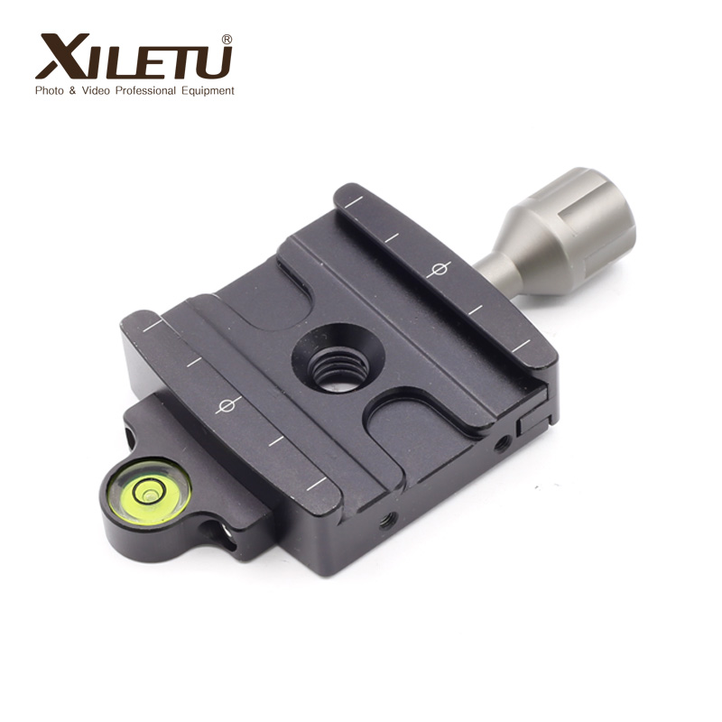 XILETU QR-50P Camera Tripod Monopod Clamp Adapter Quick Release Clamp For Manfrotto Gitzo RRS ARCA-SWISS SIRUI