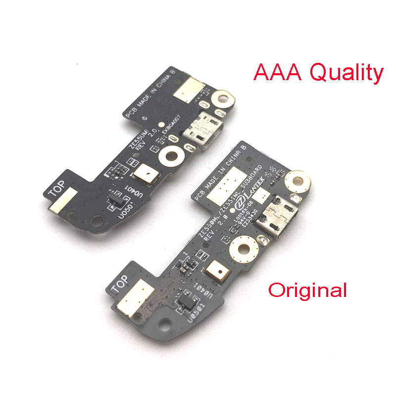 New For ASUS Zenfone 2 ZE550ML ZE551ML USB Charging Port Dock Connector Data Transfer Mic Microphone Board Flex Cable