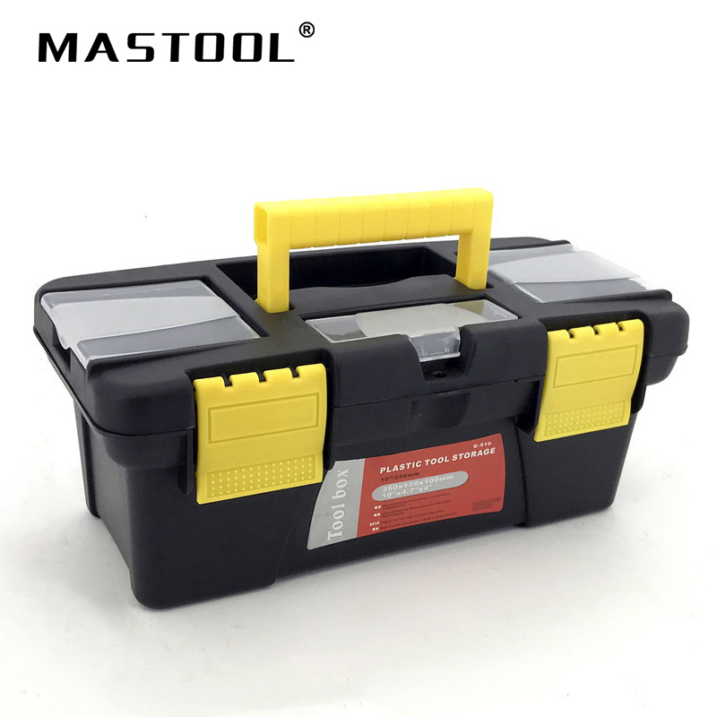 Small Size Portable Tool Box Large Storage For Tools Components Daily Necessities Woodworker Box Electrician Box