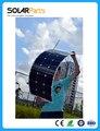 Solarparts 1 UNIDS 100 W panel solar flexible 12 V célula solar/módulo/sistema RV/coche/marine/barco cargador de batería LED kit de luz Solar.