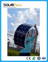 Solarparts 1PCS 100W flexible solar panel 12V solar cell/module/system RV/car/marine/boat battery charger LED Solar  light kit .