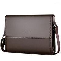 New brand men bag fashion Shoulder bag Business briefcase Men Messenger Bags vintage Leather Crossbody Bag Casual Man Handbags