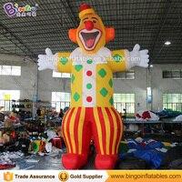 Dostosowane fabryczne cena typ Clown nadmuchiwane jester 16 feets gigantyczne dmuchane śliczne Buffoon clown Joker modelu na sprzedaż