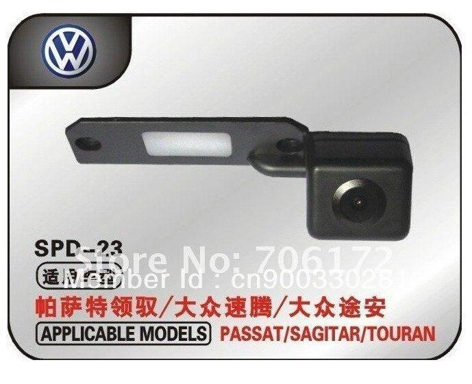 imágenes para Especial Del Coche Cámara de Visión Trasera Inversa de copia de seguridad para VW Touran Jetta Passat Caddy Golf Plus Multivan T5 Transporter Skoda Superb