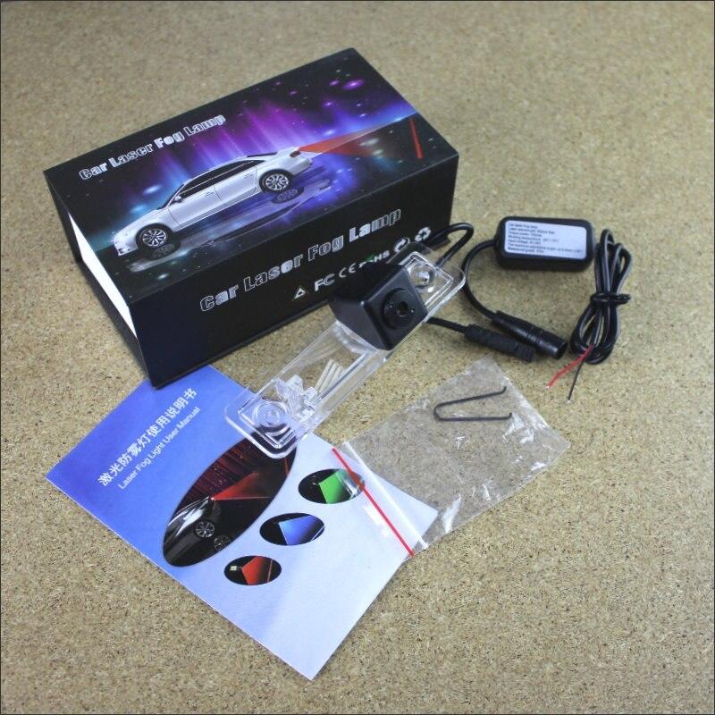 Anti Collision Laser Lights For Opel Zafira A 1999~2005 Car Prevent Mist Fog Lamps Haze Warning Rear Light