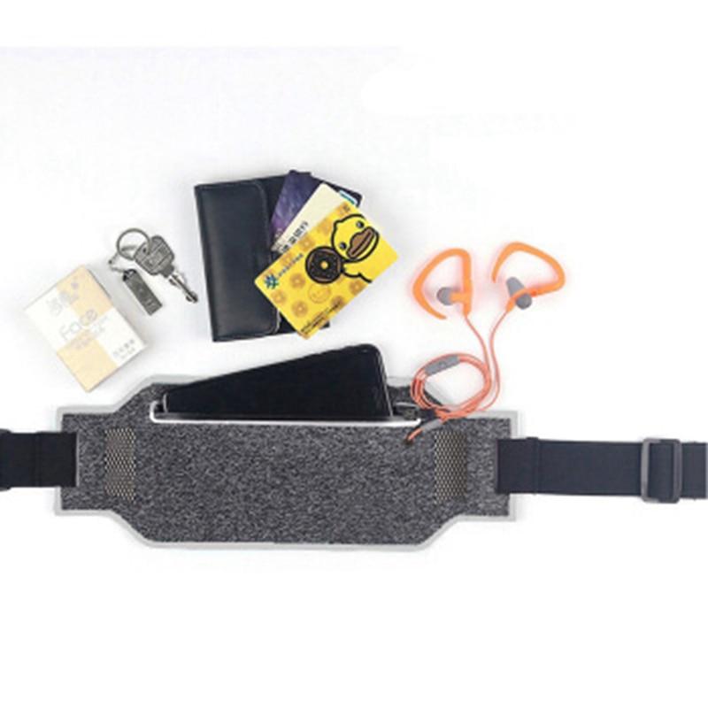 Professional Running Waist Pouch Belt Sport Belt Mobile Phone Men Women With Hidden Pouch Gym Bags Running Belt Waist Pack (4)