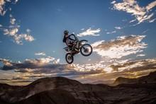 DIY marco Dirt motocross Deportes jump puerta Decoración Tela de seda del arte de la posters Cartel UUMDD
