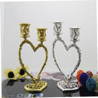 Fashion Modern Heart Double Slider Wedding Decoration Mousse Lovers Gift Mousse