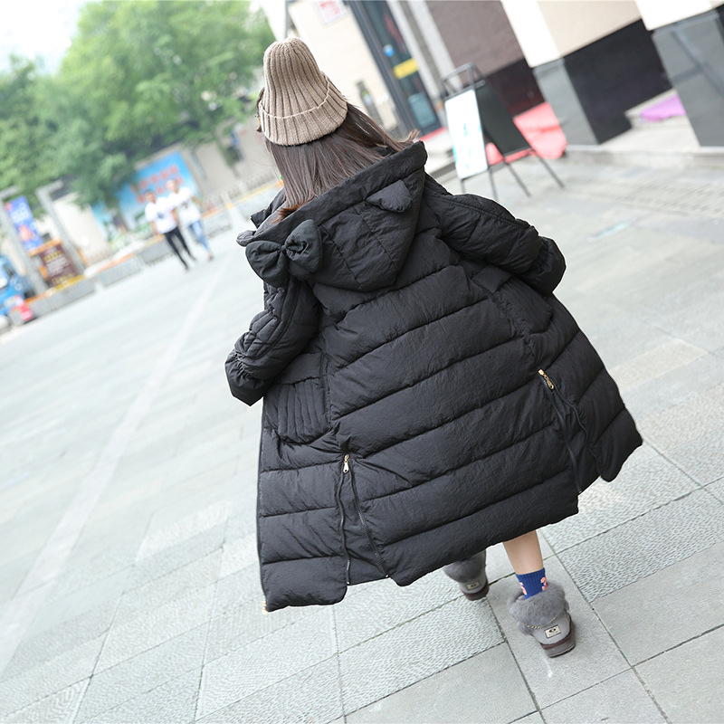 Winter Jackets Girl Thick Long Down Coat Christmas Big Girls Teenage Baby Girl Snow Suit Cotton Padded Warm Outwear 10 11 12 13 high quality new winter jacket parka women winter coat women warm outwear thick cotton padded short jackets coat plus size 5l41