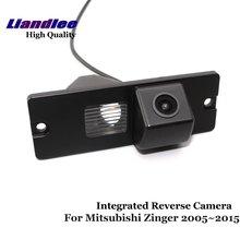 Liandlee For Mitsubishi Fuzion / Zinger 2005~2015 Car Reverse Camera Rear View Backup Parking Camera / Integrated High Quality new high quality rear view backup camera parking assist camera for toyota 86790 42030 8679042030
