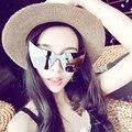 Quente Do Vintage Do olho de Gato Óculos De Sol Das Mulheres Logotipo Da Marca Designer de óculos de sol Retro Espelho Óculos de Metal Quadro Do Gato Óculos De Sol 2016 óculos de sol luneta de soleil