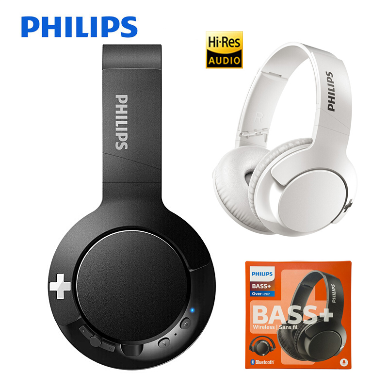 NEW Philips Wireless Headphone SHB3175 Bass+ Button Control Support Call & Music Headset for Huawei Mate20 Pro P20 Xiaomi Phone