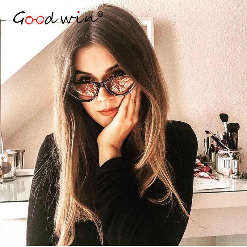 9f29864f25c ... Good Win Retro Sunglasses Cat Eye Women Fashion Brand Cateye Female Sun  Glasses Vintage UV400 Sexy ...