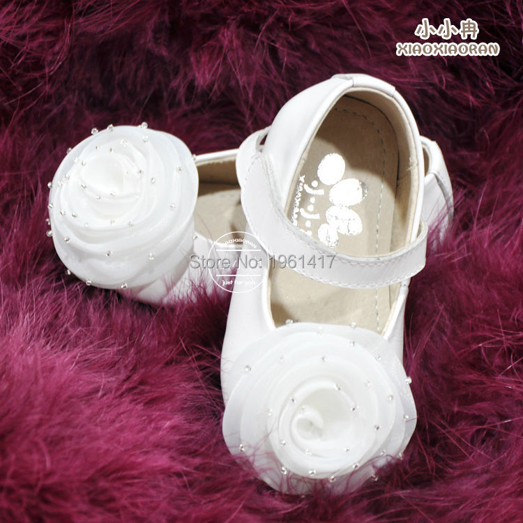 2016 Quality Children Girls Dress Shoes Princess Handmade Flower Factory Price Direct Selling  -  My Handmade store