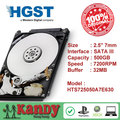 HGST Travelstar 500GB hdd 2.5 SATA 7200rpm disco duro laptop internal sabit hard disk drive interno hd notebook harddisk 7mm
