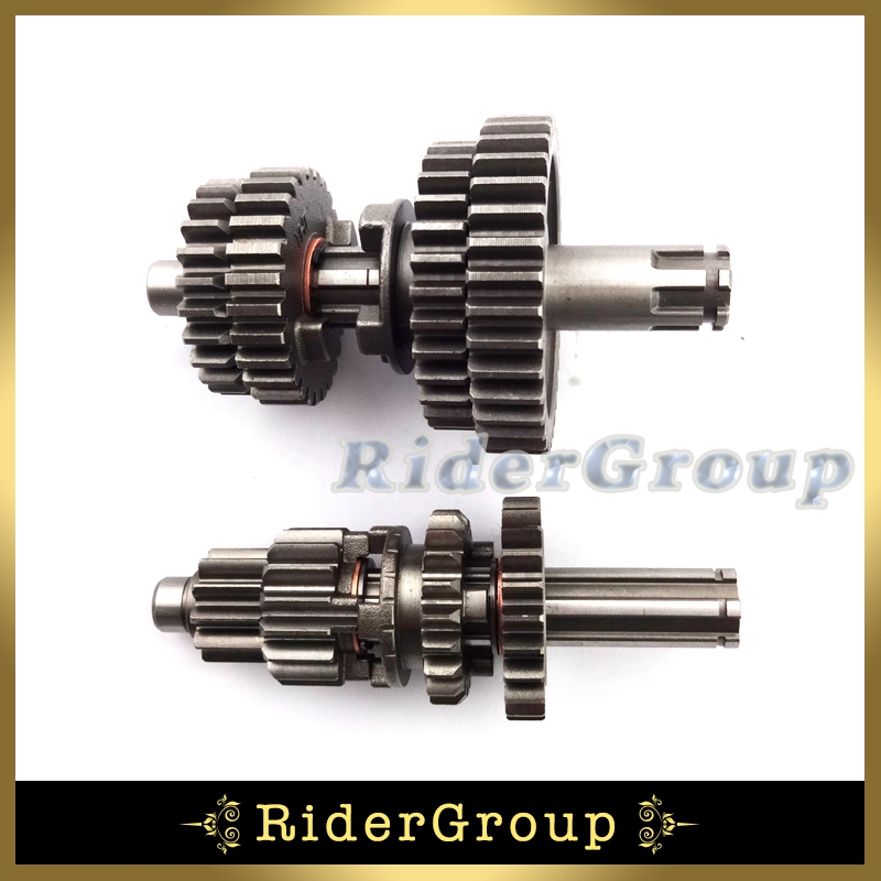 Pit Dirt Motor Bike Yx Yx Transmission Gear Box Main Counter Shaft Parts For Chinese Yx on Lifan 125cc Motor Engine