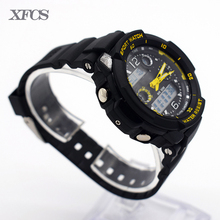 XFCS impermeable reloj de pulsera digital automático relojes para niños digitais running niños digitales reloj ots tendencia ocasional simple