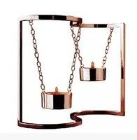 Photophore bougeoir swing de lanterne Continental ornements mariage romantique props décoration