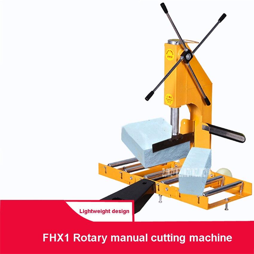 FHX1 Roterende Handmatige Baksteen Snijmachine Verstelbare Draagbare Lichtgewicht Baksteen Cutter Cellenbeton Blok Schuim Baksteen Snijmachine - 2