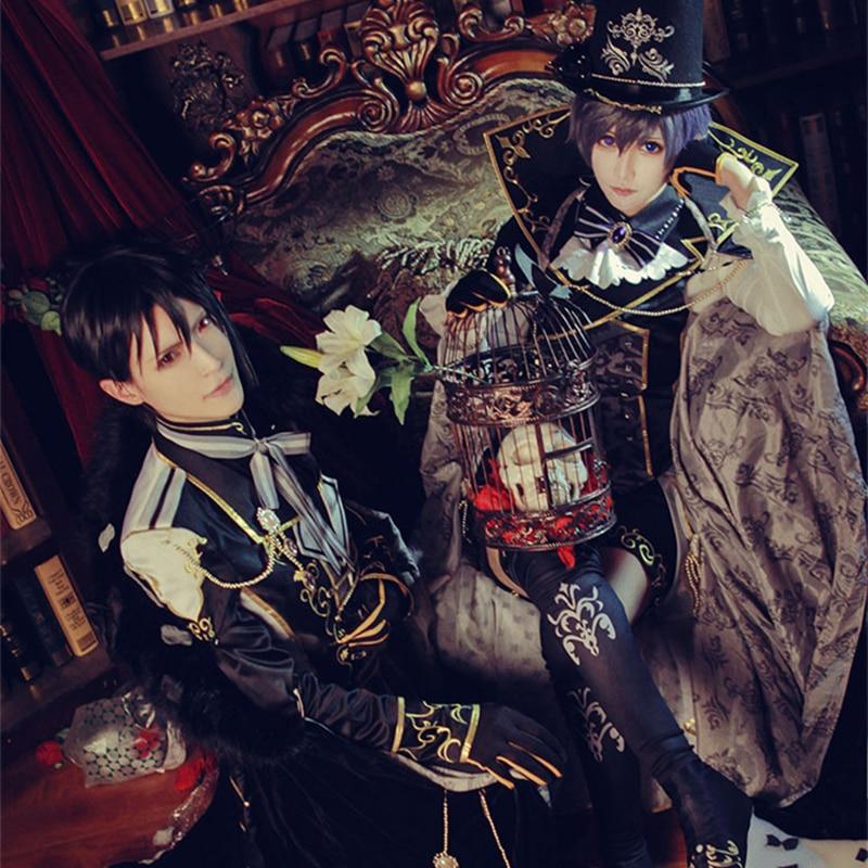 Black Butler Dream Kingdom 100 sleeping prince Ciel Phantomhive Cosplay Costume