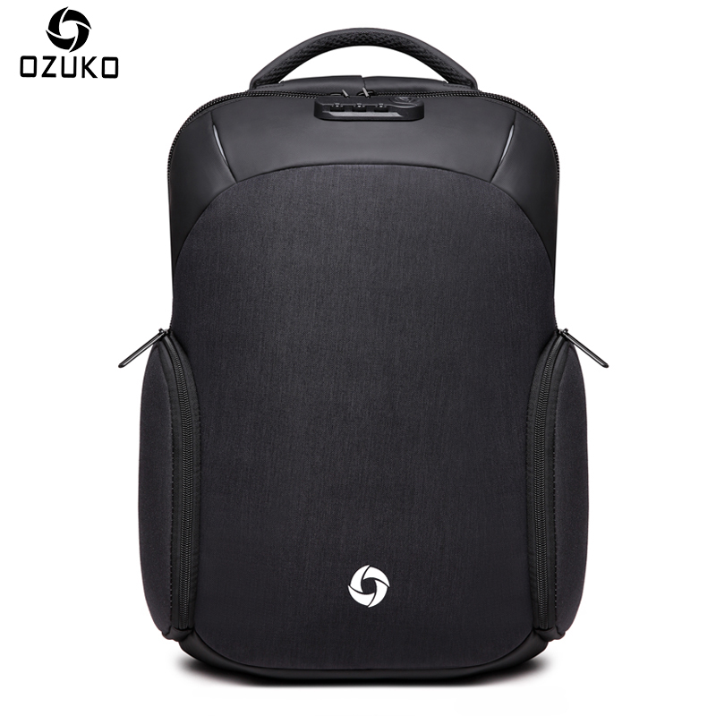 Casual, College, OZUKO, USB, inch, Backpack