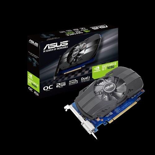 ASUS PH GT1030 O2G GDDR5 Графика карт Nvidia pci express 3,0 Настольный компьютер PC видео игр Графика карты