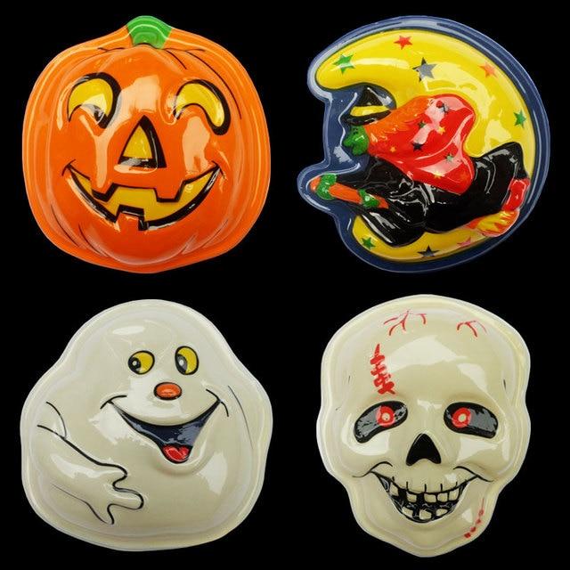 xi bao de halloween horror luminoso de la lmpara colgante decorativo puertas de vidrio las calabazas