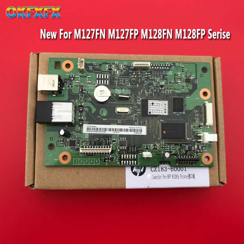 CZ183-60001 CZ181-60001 Formatter Board for <font><b>HP</b></font> M127FN M128FN 127FN 128FN <font><b>M127FW</b></font> M128FW 127FW 128FW M127 M128 127FW MainBoard image