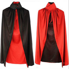 1.2m Newly Desig Halloween costumes Magic cloak vampire wearing Witch Cloak Hoodies Cosplay Clothing Costume For Halloween Party
