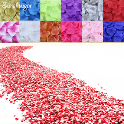 100 stücke Seide Rose Blumenblatt-blumen Blätter Blätter Hochzeit Liefert Favor Party Dekorationen