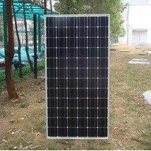 Monocrystalline Solar Panel 200w 24v 8 Pcs zonnepanelen 1600w 1.6KW  Energy Systems For Home Battery Rv Roof Garden