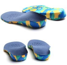 Kids Children EVA orthopedic insoles for children shoes flat foot arch support orthotic Pads Correction health feet care