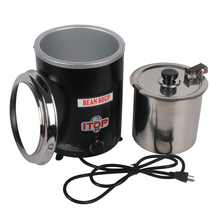 Commercial 5.7L Electric Soup Pots Warm Kettle Cookware Soup & Stock Pots For Restaurant Cafeteria Party Stainless Steel цена и фото