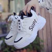 Korean version student 2019 new spring super hot running shoes casual sports shoes off white shoes