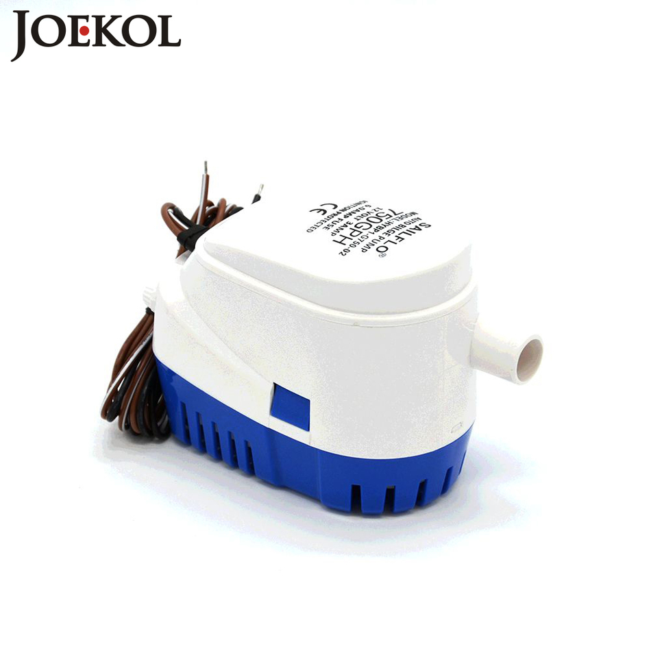 где купить Free shipping auto submersible boat water pump DC24V Automatic bilge pump 750GPH,electric pump for boats accessories marin по лучшей цене