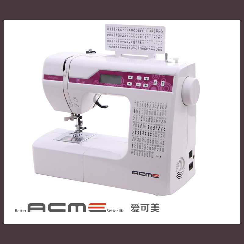 Acme 40a Letter Step Buttonhole Electronic Sewing Machinein Unique Acme Sewing Machine