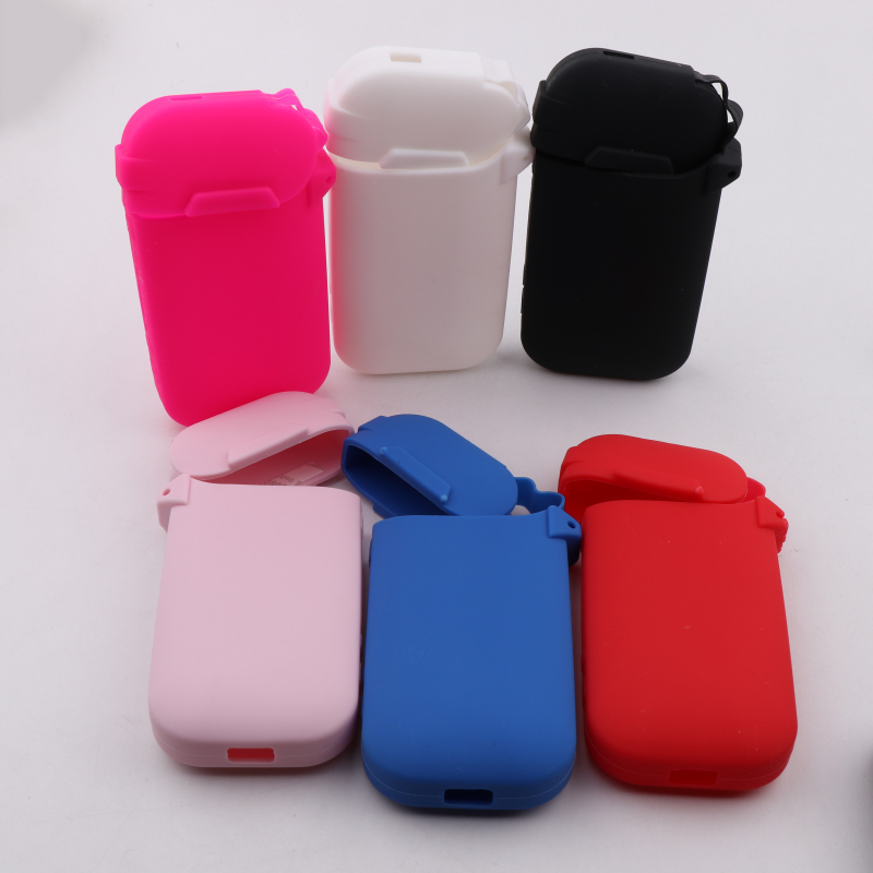 1PC Fashion Anti-slip Shield Replacement Silicone Case Sleeve Wrap Protective Skin Cover For IQOS II IQOS 2.4 Plus III 6 Colors