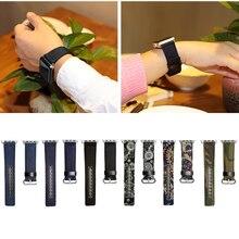 Новая Версия Новая Мода Для Apple Watch 38 мм 42 мм Джинсы Стиль Смотреть Band с Адаптером