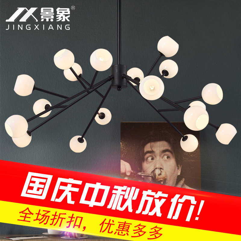 American style, modern living room lights, chandeliers, restaurants, bedrooms, cafes, creative personality, LED lamps, clothing oygroup chandeliers creative personality dining room simple modern coffee lights living room decoration design lamps oy16p08s