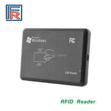 Iso14443a rfidデスクトップカードリーダーでusbインタフェース13.56 mhz読み取り専用ホット販売