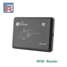 Scheda ISO14443A RFID desktop reader con interfaccia USB 13.56 MHz di sola lettura vendita calda