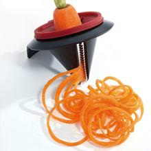 new funnel model spiral slicer cut carrots fruit and vegetable slicer grinding machine new kitchen tools home gadgets