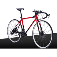 Алюминиевый сплав Материал 26 дюймов 27 скорость Велоспорт оборудование производитель дорожный велосипед