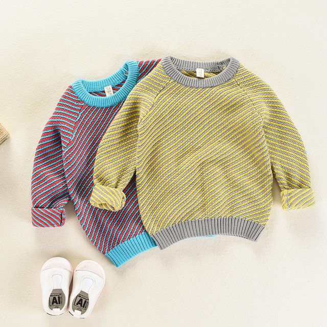 45b75cd0f Children Clothing Fashion Baby Boys Girls Knitted Sweaters Clothes ...