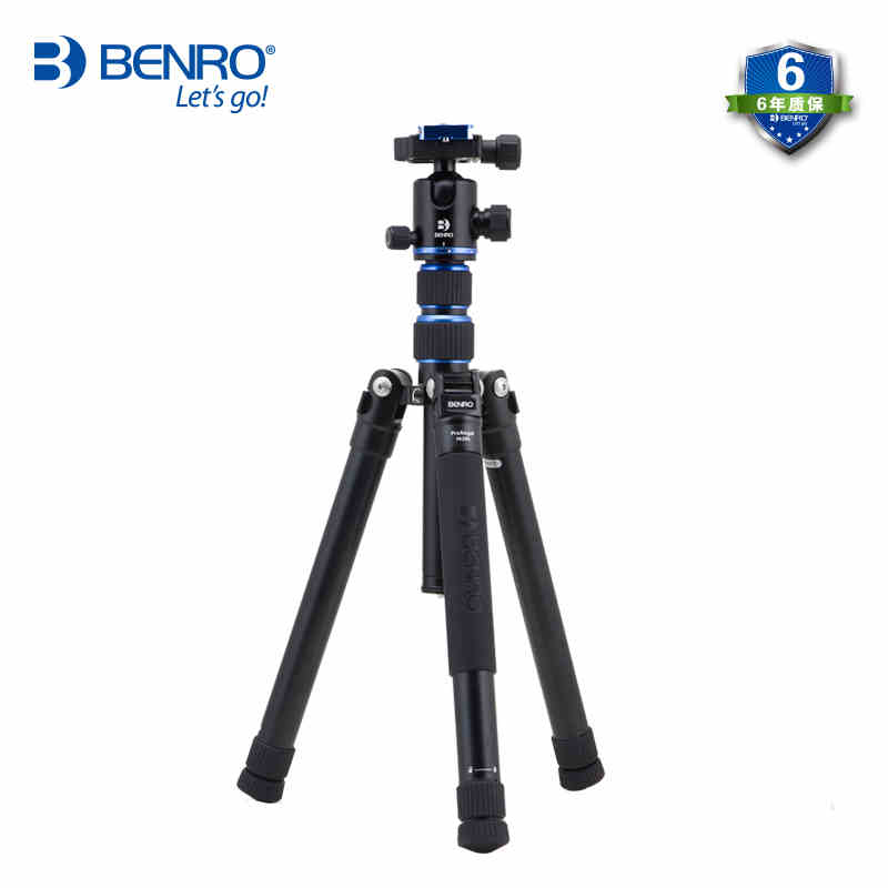 Free Shipping,Benro Panorama PA19AK shooting travel portable SLR micro single camera tripod pan / tilt suit benro a38td foot aluminum alloy slr camera videotape alone racks one horned portable triangle frame free shipping