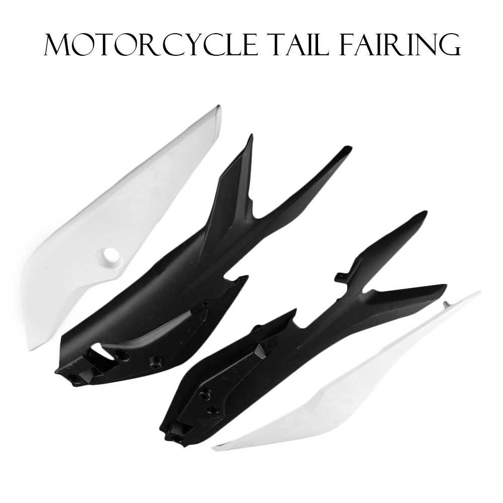GZYF ABS plastic Unpainted White DIY Motorbike Part for Honda CBR 250RR 2011 Tail Rear Fairing Cover Body kits - 4